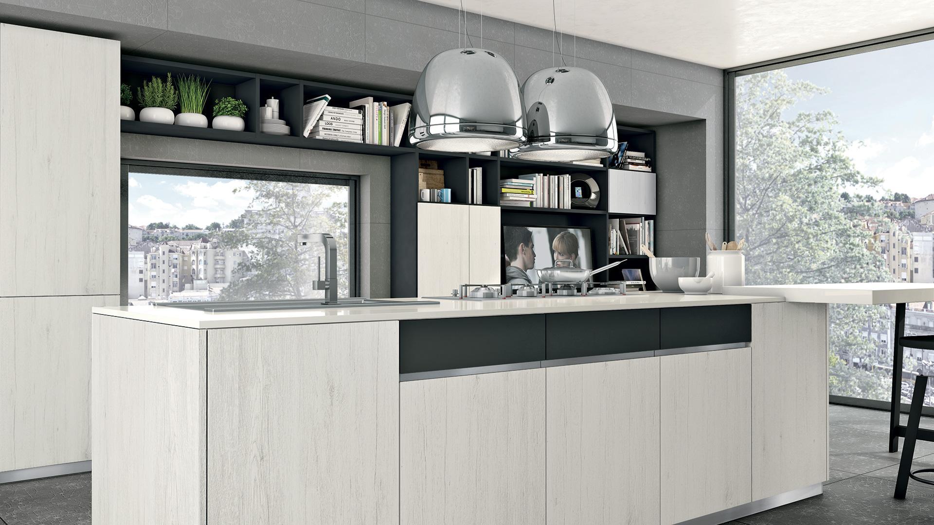 Rizzo arreda lube arredamenti paderno dugnano cucine moderna immagina - Cucine moderne con isola lube ...