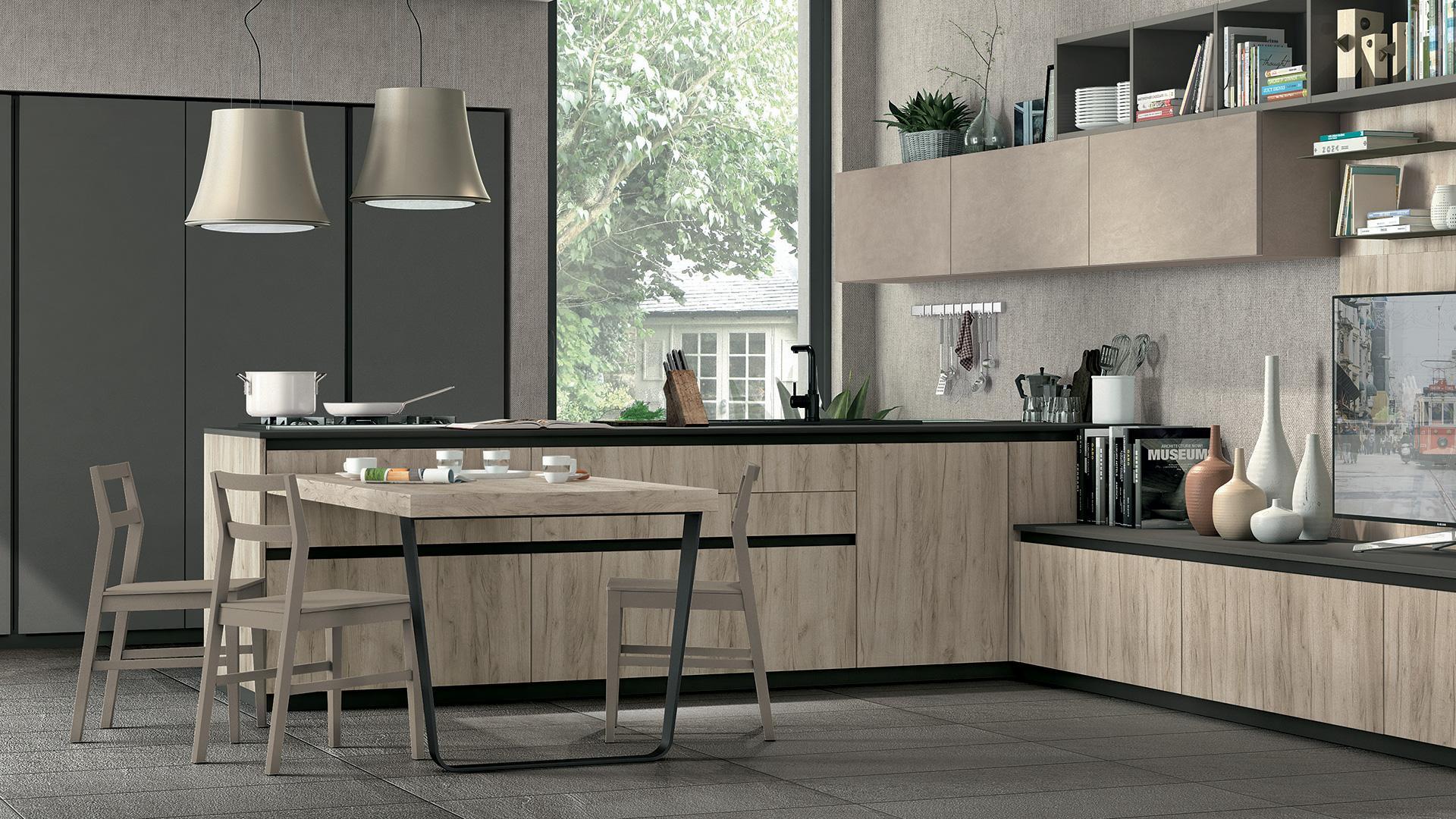 Cucina Moderna Nuova.Rizzo Arreda Lube Arredamenti Paderno Dugnano Cucine