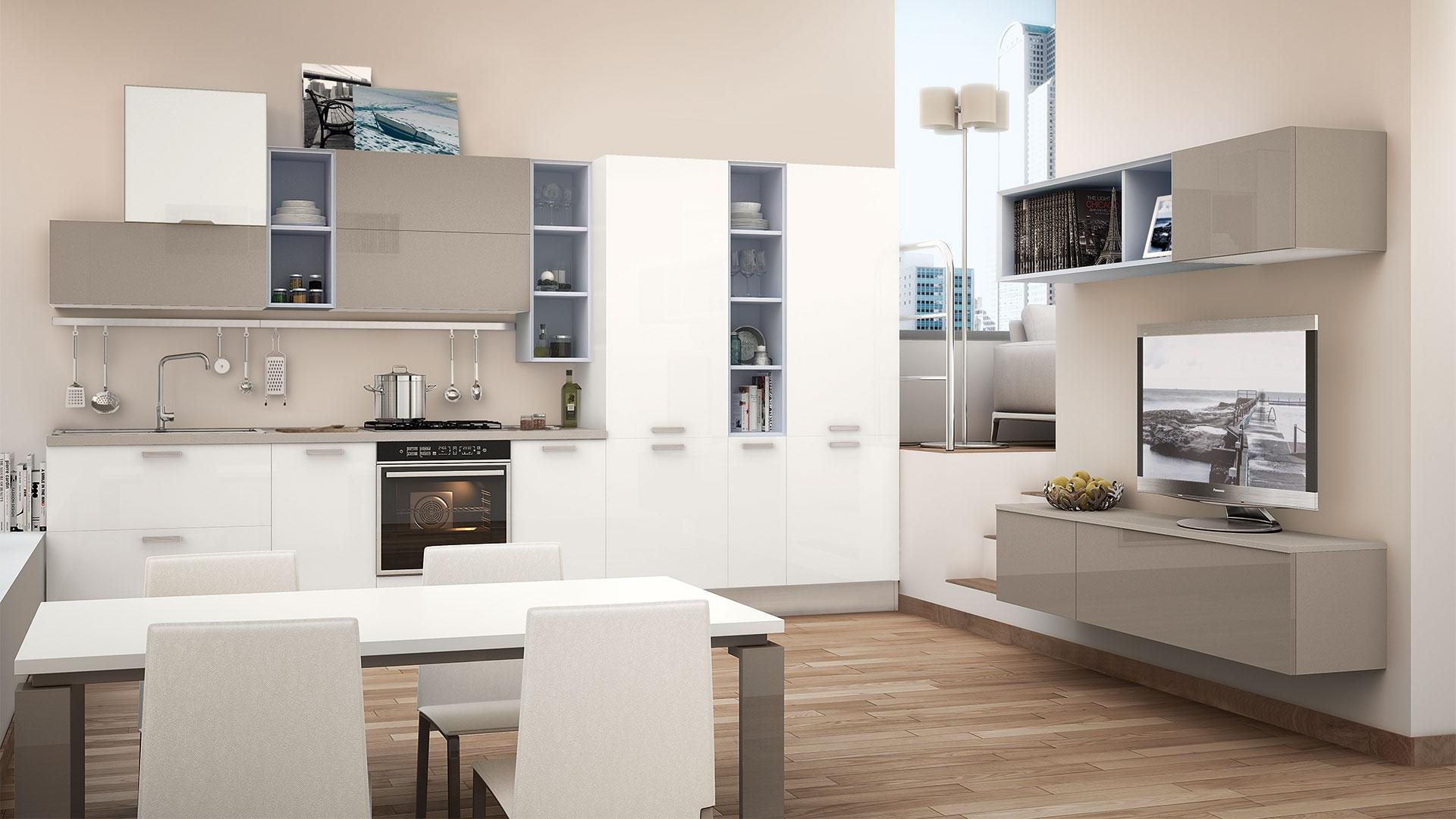 Mobili ufficio cucina lube mod oltre