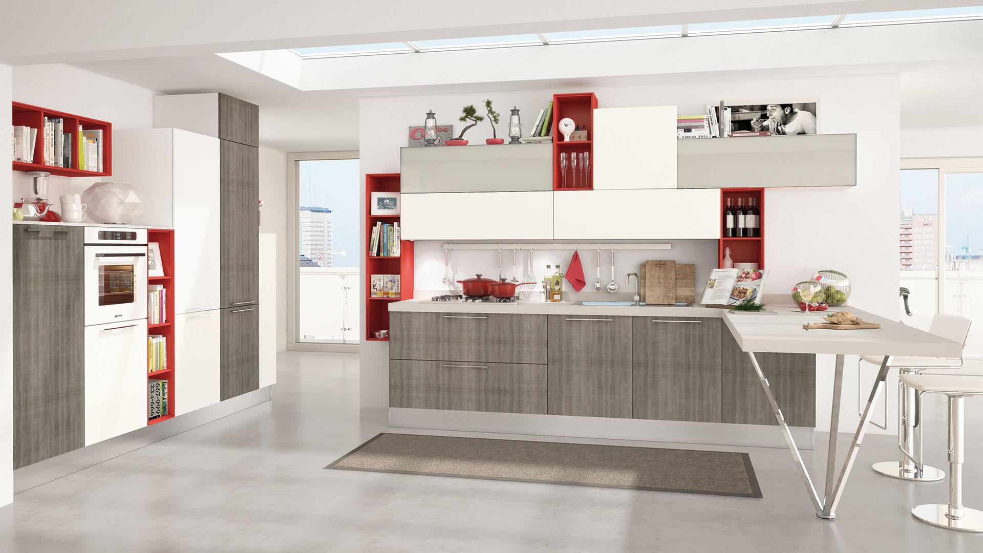 Rizzo Arreda Lube Arredamenti Paderno Dugnano | Cucine Moderna Noemi