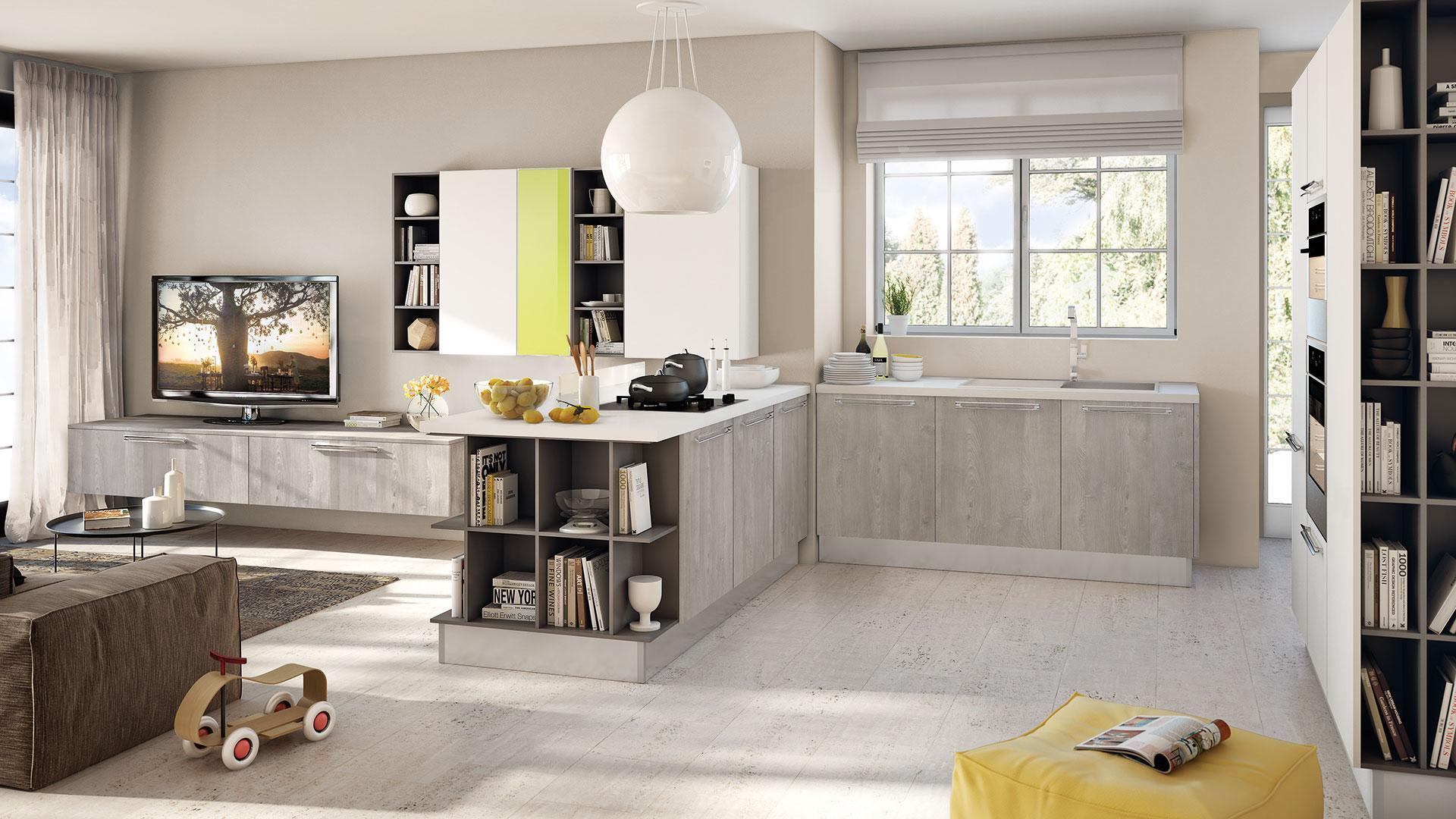 Beautiful Cucine Ad Angolo Lube Images - harrop.us - harrop.us